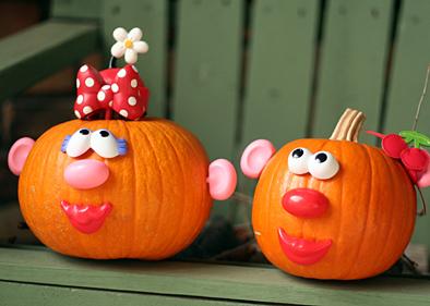 7 awesome no carve pumpkin decorating ideas no knives required - Pumpkin Decorating Ideas