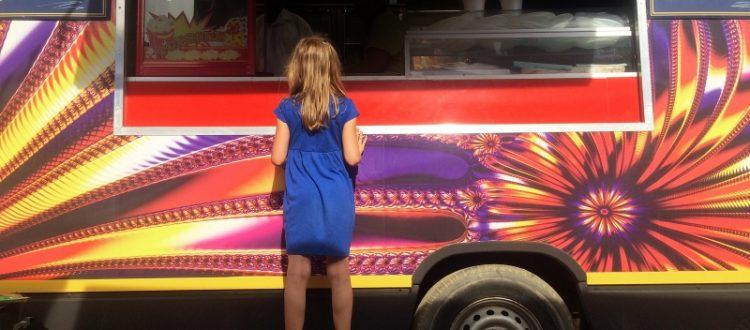 Hungry Fill up at Food Truck Fridays at Carousel Village at Roger